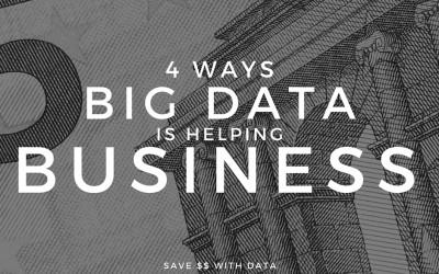 4 Big Ways Big Data Is Helping Business