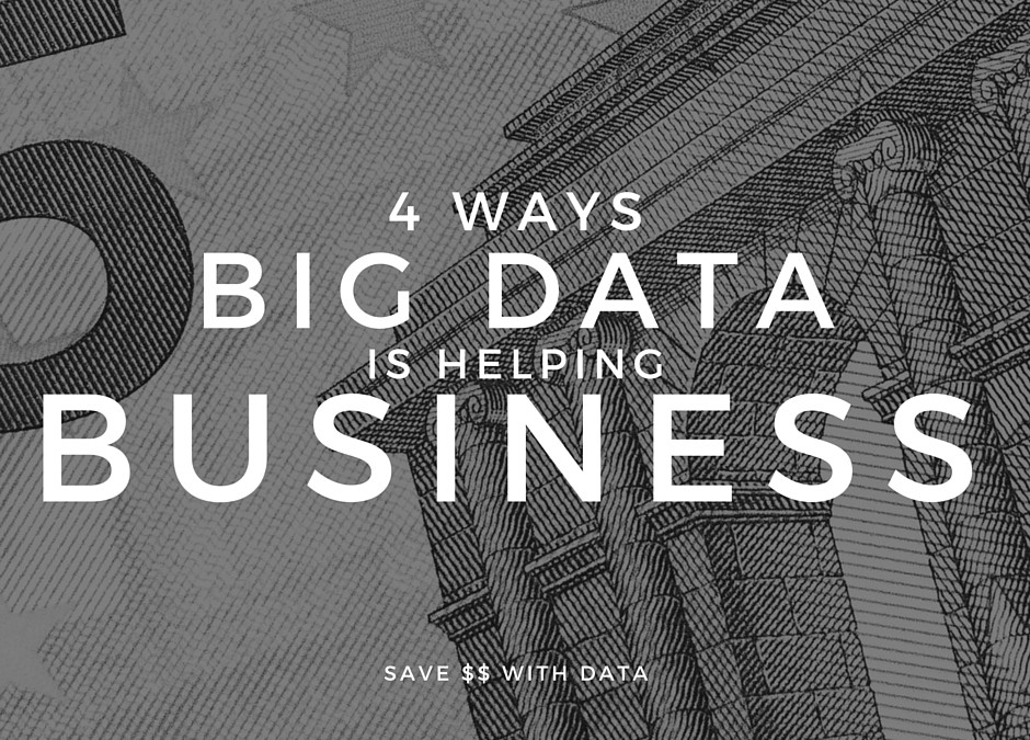 4 Big Ways Big Data Is Helping Business